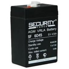 Аккумулятор 6В, 4,5А (SF 6045)