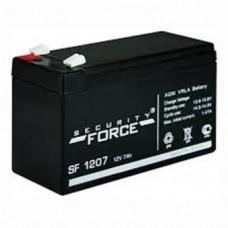Аккумулятор 12В, 7 А*ч (SF 1207), 152х65х100мм, 2.5кг