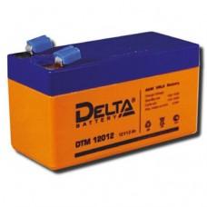 Аккумулятор DELTA DTM 12012, напряжение 12В, емкость 1,2 А/ч,