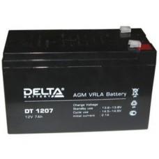 DT 1207. Аккумулятор 12В, 7,0 А/ч