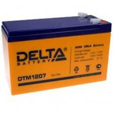 DTM 1207. Аккумулятор 12В, 7,0 А/ч