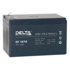 DT 1212. Аккумулятор 12В, 12 А/ч