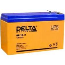 HR 12-9 (12В, 9А) Аккумулятор Delta